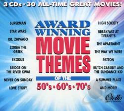award winning movie themes of the 50s 60s amp 70s soundtrack