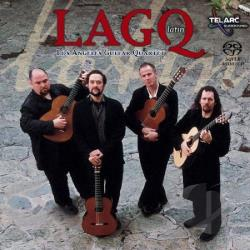 Los Angeles Guitar Quartet - LAGQ Latin CD Cover Art