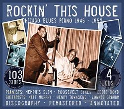 Memphis Slim - Rockin' This House CD Cover Art