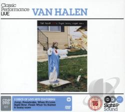 Van Halen - Right Here Right Now CD Cover Art