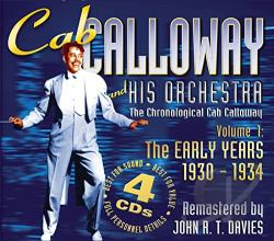 Calloway, Cab - Early Years 1: 1930-34 CD Cover Art