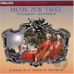 Amf - Telemann Concertos CD Cover Art