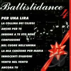 Luciobravo - Battistidance, Vol. 4 CD Cover Art