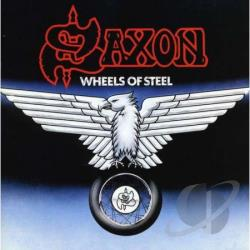 Saxon - Wheels of Steel CD Cover Art