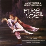 Davis, Carl - Jayne Torvill & Christopher Dean: Fire & Ice DB Cover Art