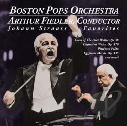 Fiedler, Arthur - Conducts Strauss Favorites CD Cover Art