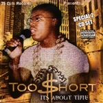 Too $Hort - It's About Time CD Cover Art