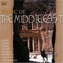 Music of the Middle East CD Cover Art