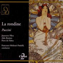 Bottion / Pilou / Pradelli - Puccini: La rondine CD Cover Art