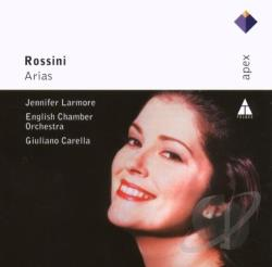 European Chamber Orch / Larmore / Rossini - Rossini: Arias CD Cover Art