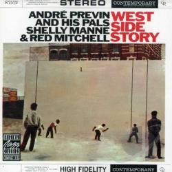 Andre Previn & His Pals - West Side Story CD Cover Art