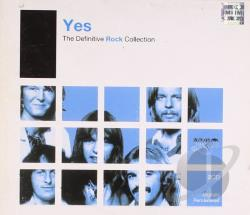 Yes - Definitive Rock Collection CD Cover Art