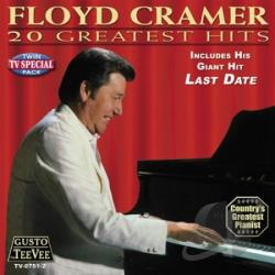 Cramer, Floyd - 20 Greatest Hits CD Cover Art