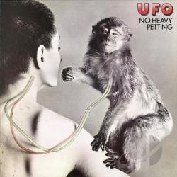 U.F.O. - No Heavy Petting CD Cover Art
