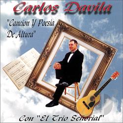 Davila, Carlos Y Su Trio - Cancion y Poesia de Altura CD Cover Art