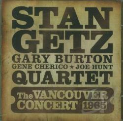 Getz, Stan - Vancouver Concert 1965 CD Cover Art