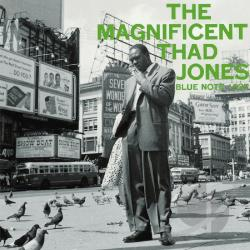 Jones, Thad - Magnificent CD Cover Art