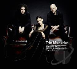 Trio Mondrian - Ravel, Shostakovich: Piano Trios CD Cover Art