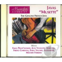 Javas Musette CD Cover Art