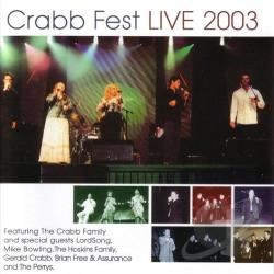 Crabb Family - Crabb Fest Live 2003 CD Cover Art
