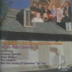 New Bumpers Jazz Band - Trio to New Orleans CD Cover Art