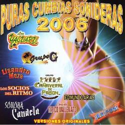 Puras Cumbias 2006 CD Cover Art