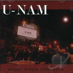U-Nam - Back from the 80s CD Cover Art