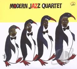 Modern Jazz Quartet - Anthology 1952-1956 CD Cover Art