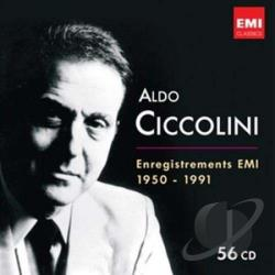Ciccolini, Aldo - Aldo Ciccolini: Enregistrements EMI 1950-1991 CD Cover Art