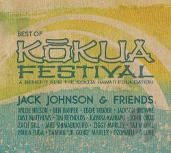 Johnson, Jack - Jack Johnson & Friends: The Best of Kokua Festival CD Cover Art