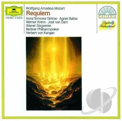 Baltsa / Berlin Phil. / Karajan / Krenn / Mozart - Mozart:Requiem In D Minor CD Cover Art