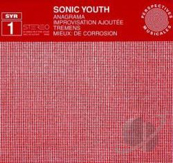 Sonic Youth - Syr 1 CD Cover Art