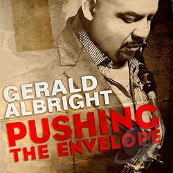 Albright, Gerald - Pushing the Envelope CD Cover Art
