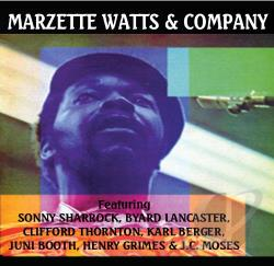 Watts, Marzette - Marzette Watts and Company CD Cover Art