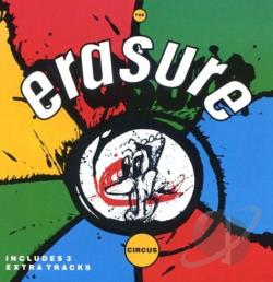 Erasure - Circus CD Cover Art