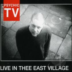Psychic TV - Live in Thee East Village CD Cover Art