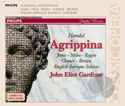 Ebs / Gardiner / Handel / Jones / Miles / Ragin - Handel: Agrippina CD Cover Art