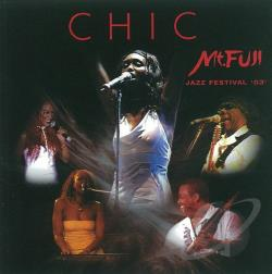 Chic - Mount Fuji Jazz Festival '03 CD Cover Art