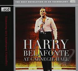 Belafonte, Harry - Belafonte at Carnegie Hall CD Cover Art