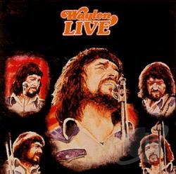 Jennings, Waylon - Waylon Live CD Cover Art