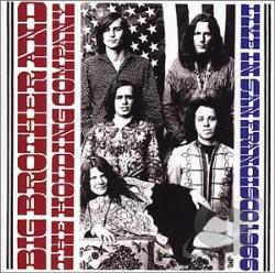 Big Brother & The Holding Company - Live in San Francisco, 1966 CD Cover Art