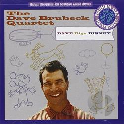 Brubeck, Dave - Dave Digs Disney CD Cover Art
