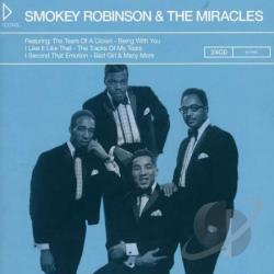 Miracles / Robinson, Smokey & The Miracles - Icons: Smokey Robinson & the Miracles CD Cover Art