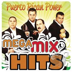 Puerto Rican Power Orchestra - Mega Mixhits CD Cover Art