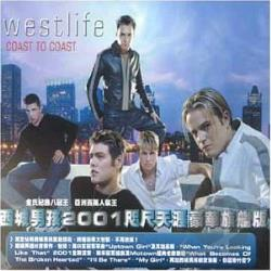 Westlife - Coast To Coast CD Cover Art