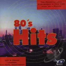 80's Hits CD Cover Art
