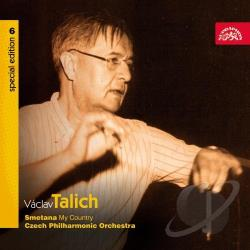 Czech Phil Orch / Smetana / Talich - Smetana: My Country CD Cover Art