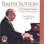 Sutton, Ralph - At St. George Church CD Cover Art