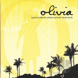 Olivia The Band - Back To Friends Where Summer Never Ends CD Cover Art