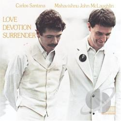 Mclaughlin, John / Santana / Santana, Carlos - Love Devotion Surrender CD Cover Art